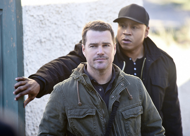 Chris O'Donnell as G. Callen and LL COOL J as Agent Sam Hanna