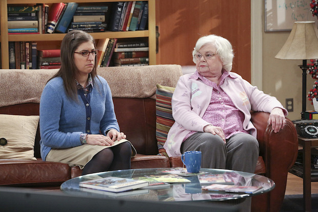 Amy and Sheldon's Meemaw don't quite hit it off.