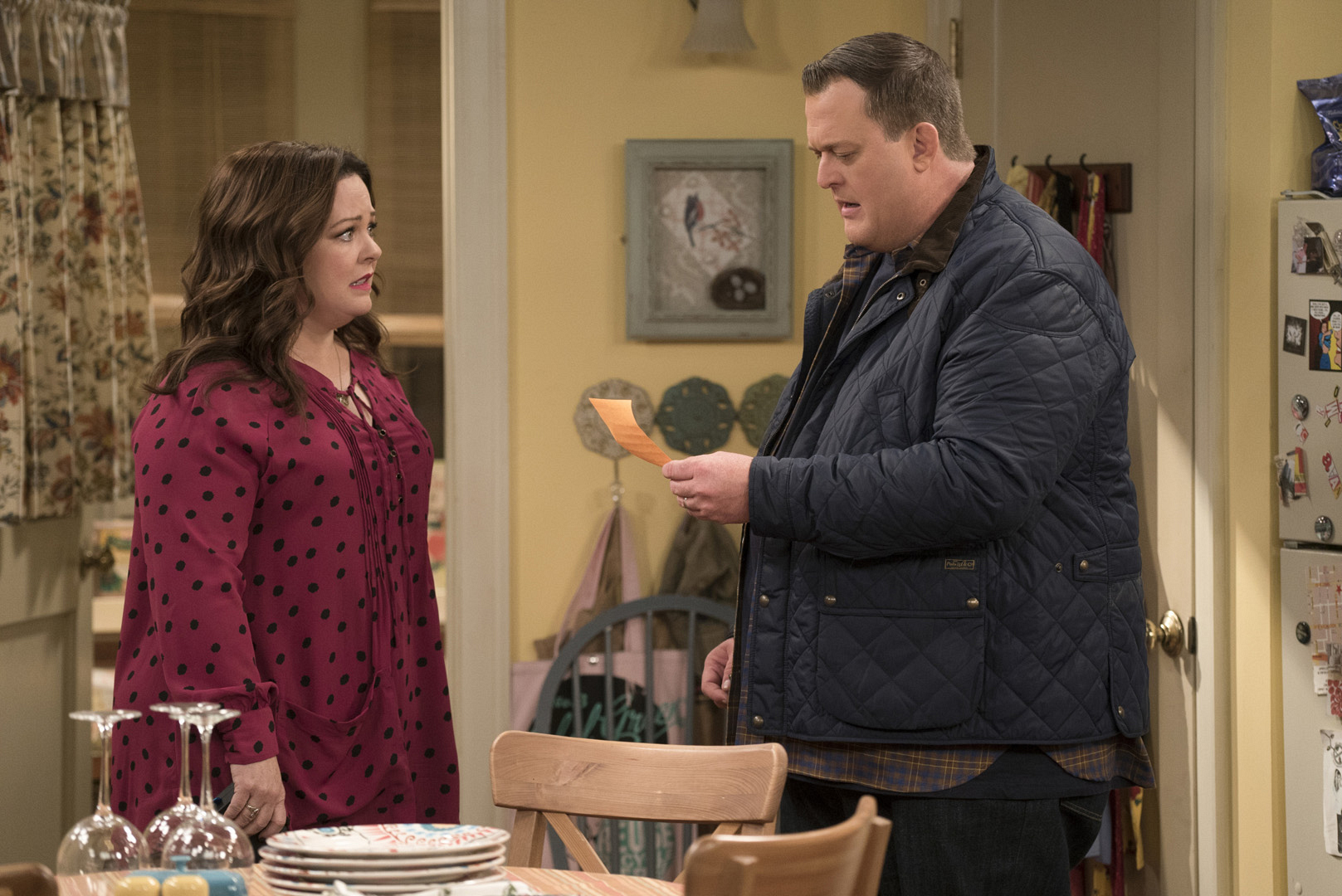 Mike is shocked after Molly makes a major life decision without him.