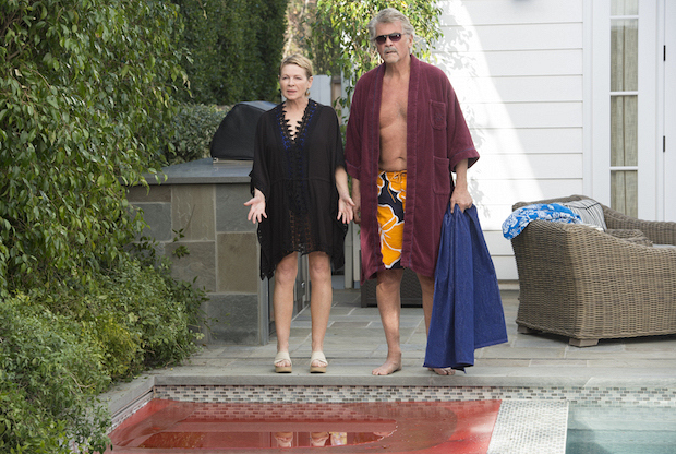 Joan and John are stunned by what they find in their hot tub.
