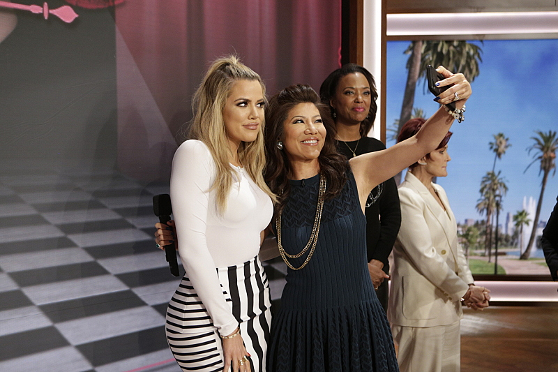 Khloe Kardashian and Julie Chen