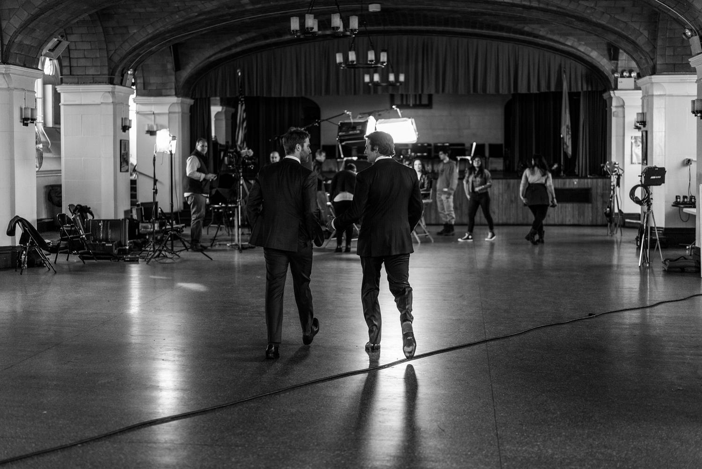 Jake McDorman and Bradley Cooper