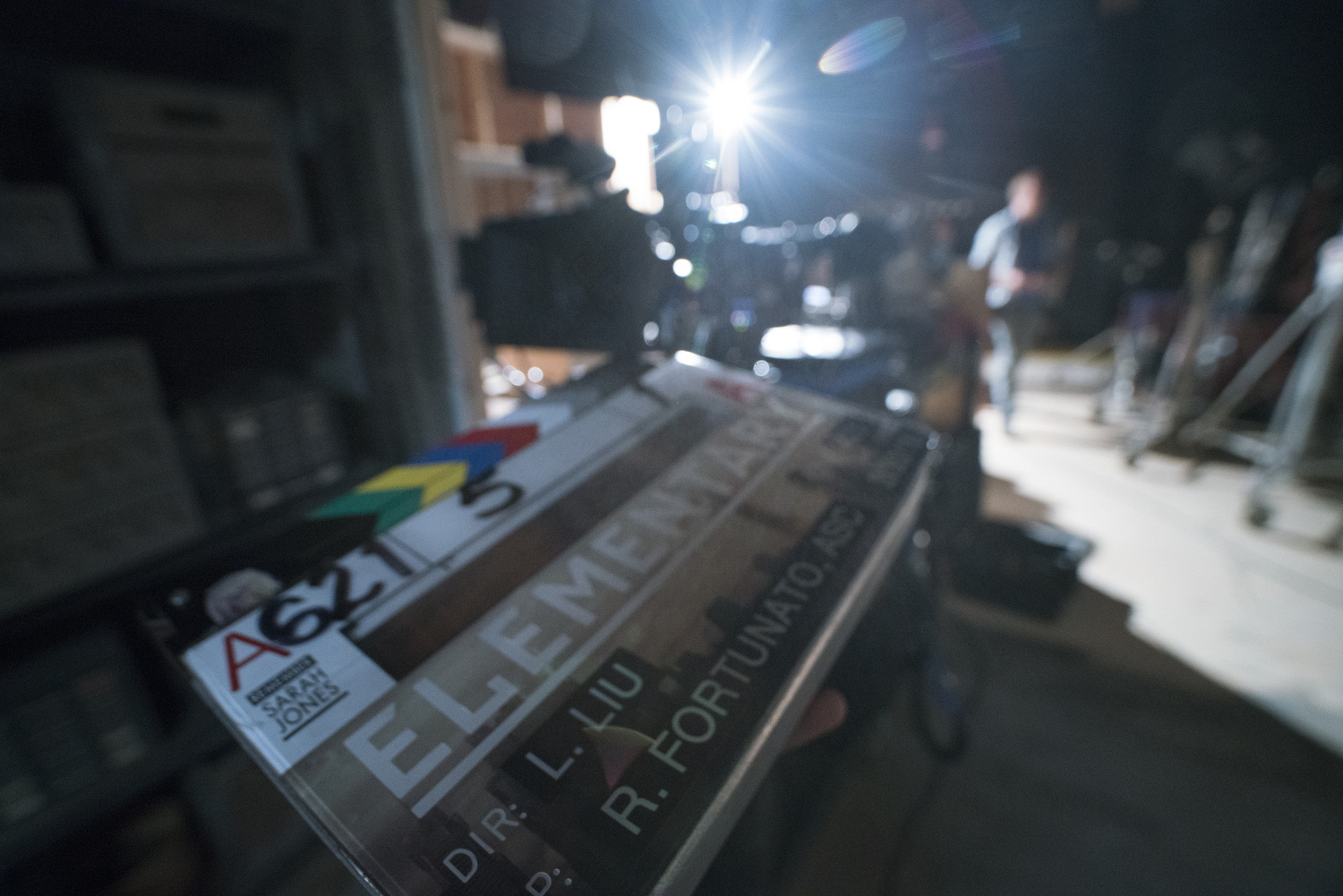 Directors have their name on the clapboard