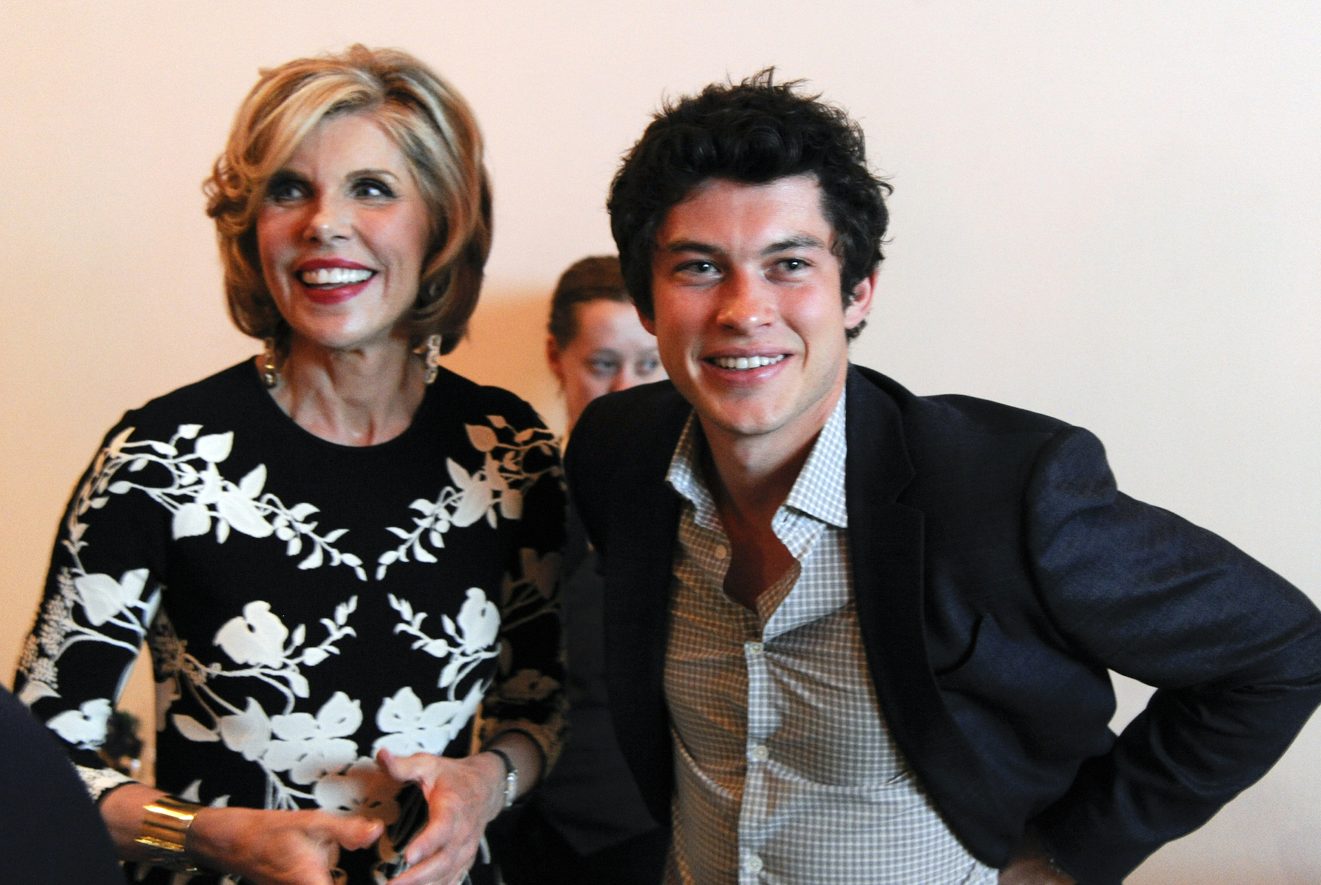 Christine Baranski and Graham Phillips