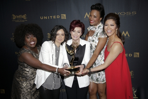 The hosts of The Talk took home a Daytime Emmy.