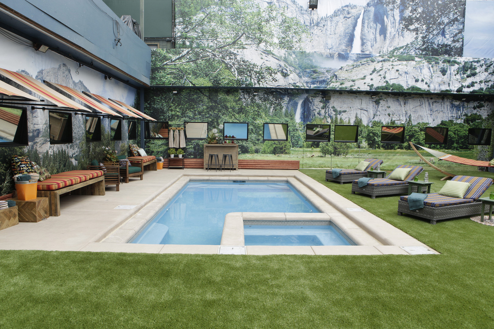 Discover Big Brother's revamped new backyard.