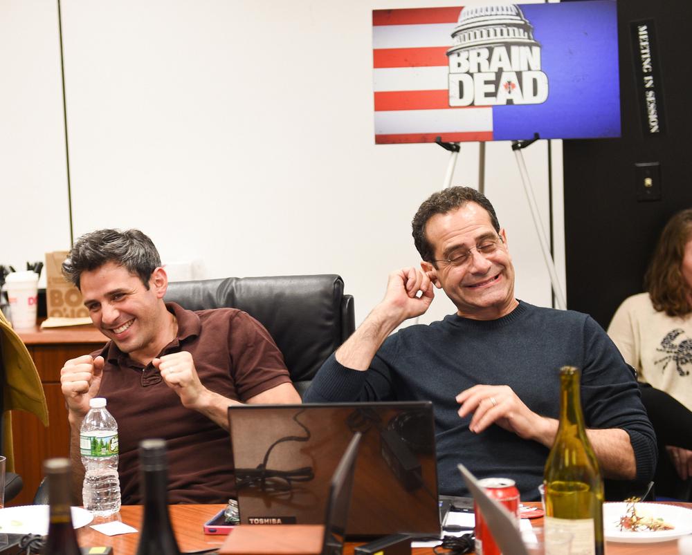 ... Charlie Semine and Tony Shalhoub after.