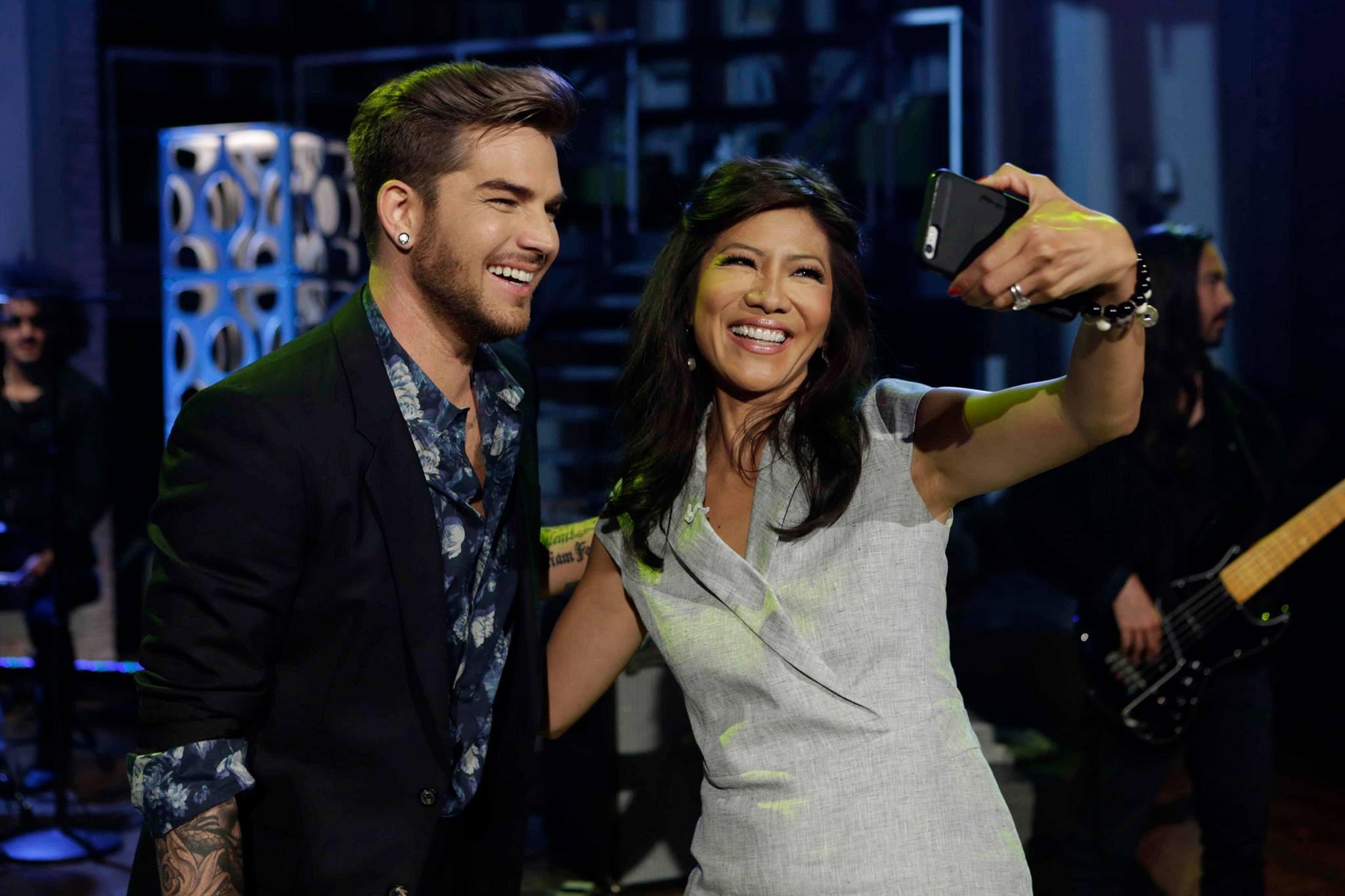 Julie had to have a selfie!