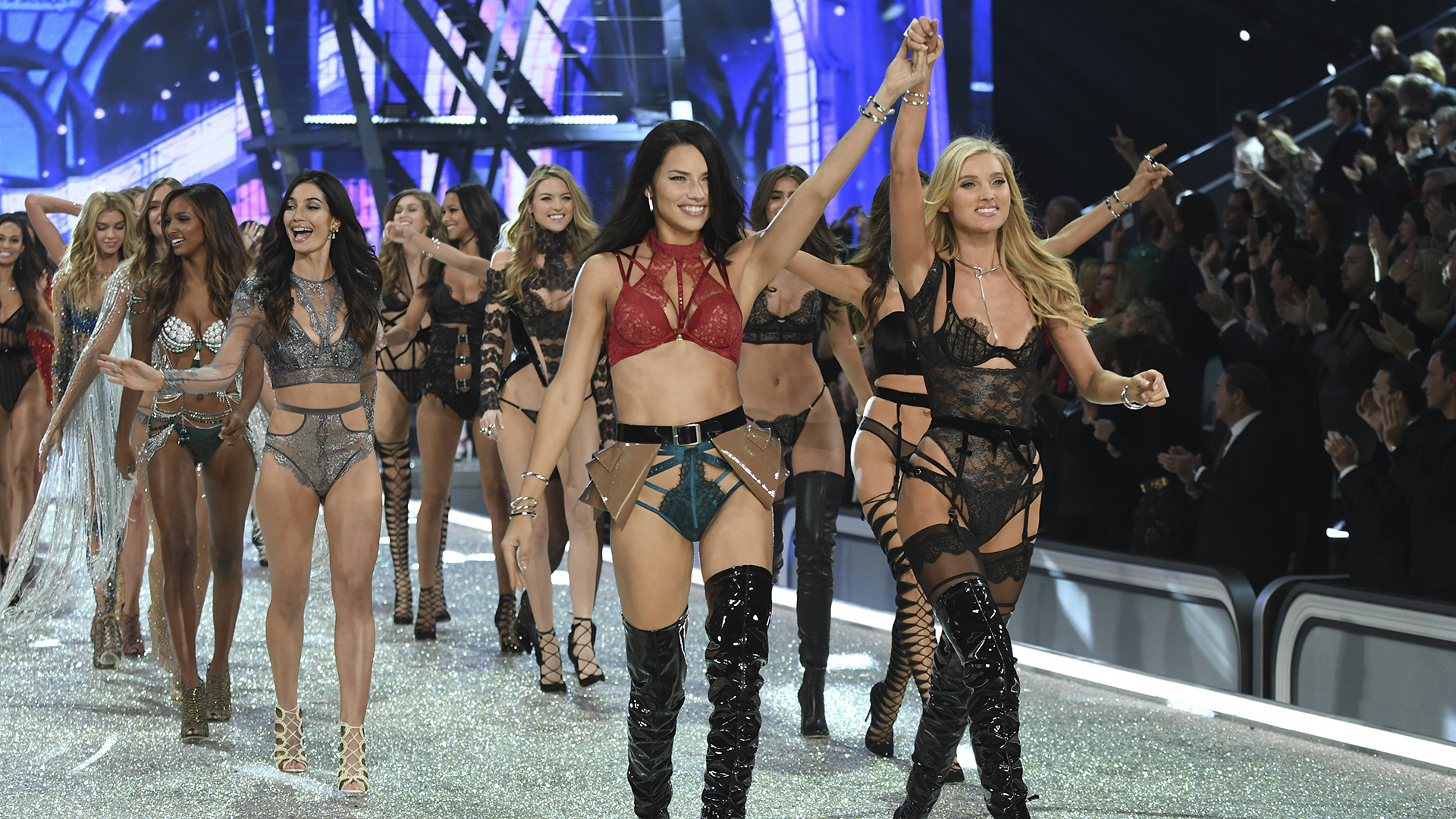 The 2016 Victoria's Secret Fashion Show lights up the City of Lights.