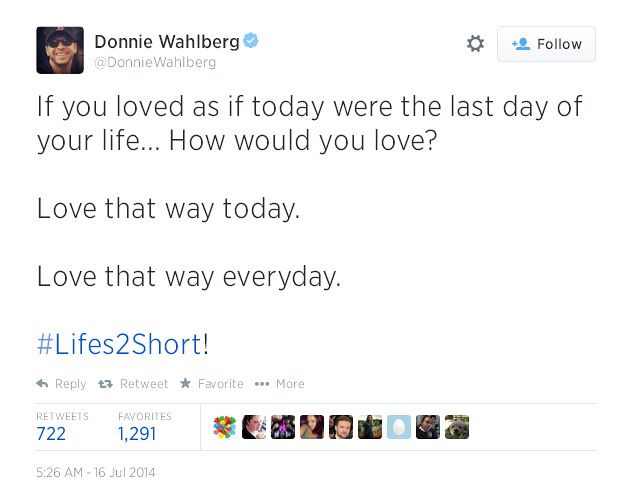 11. If you loved as if today were the last day of your life... How would you love?