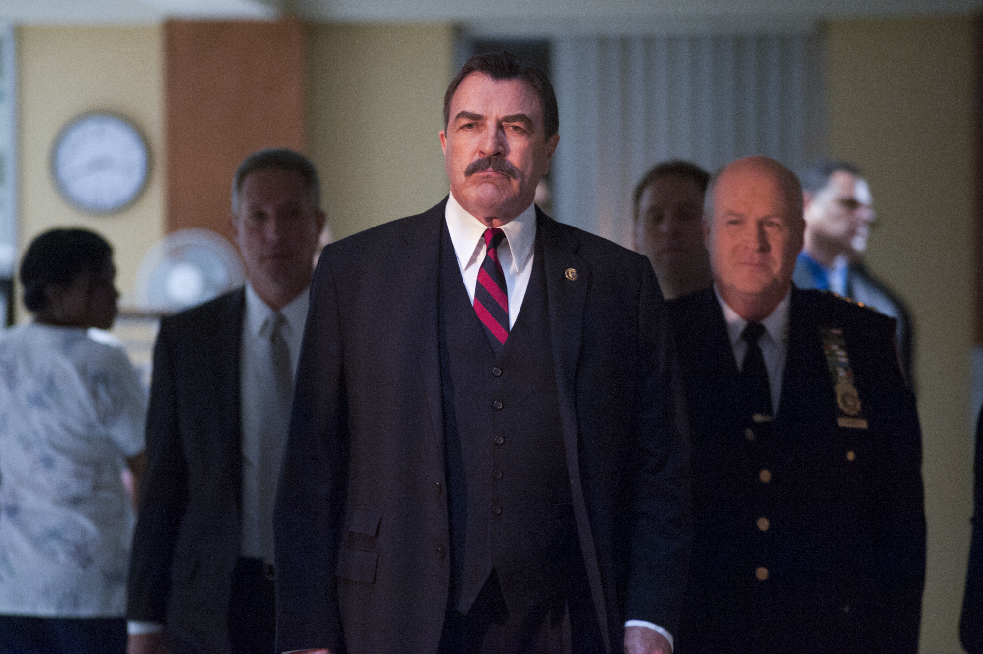 "10. For ""Magnum, P.I."" Tom Selleck won an an Emmy and a Golden Globe for Best Actor in a Drama Series"