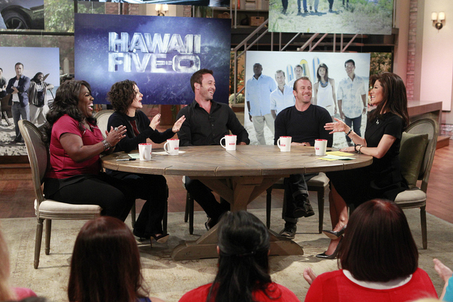 "10. Getting the inside scoop on the 100th episode of ""Hawaii Five-0."""