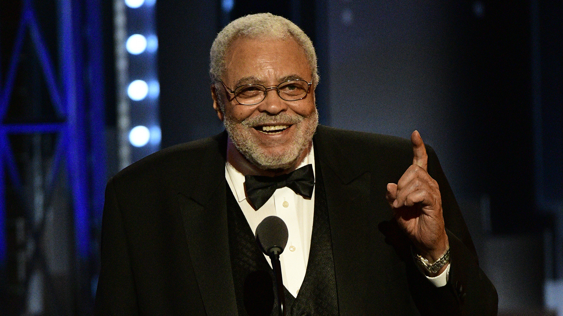 James Earl Jones wins the 71st Annual Special Tony Award for Lifetime Achievement in the Theatre