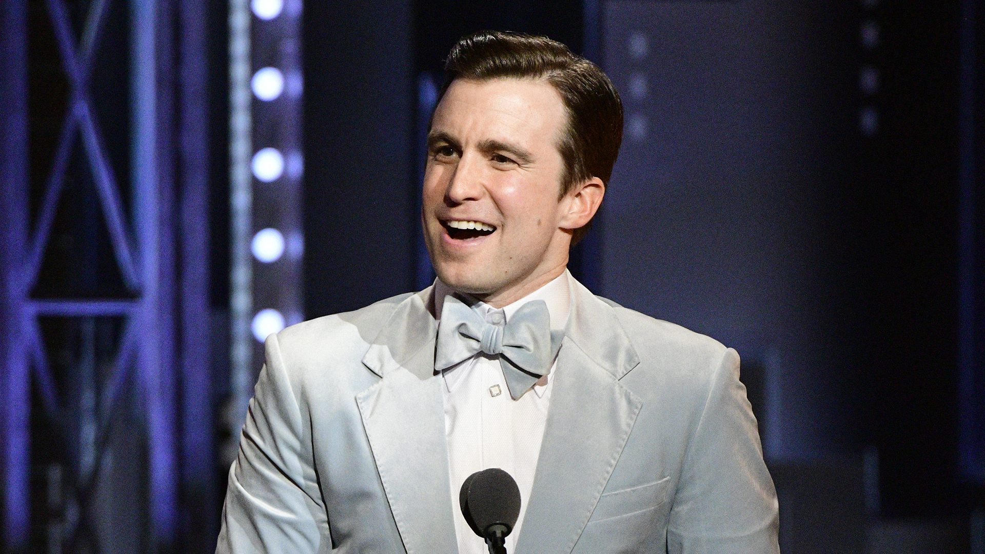 Gavin Creel wins the 71st Annual Tony Award for Best Performance by an Actor in a Featured Role in a Musical