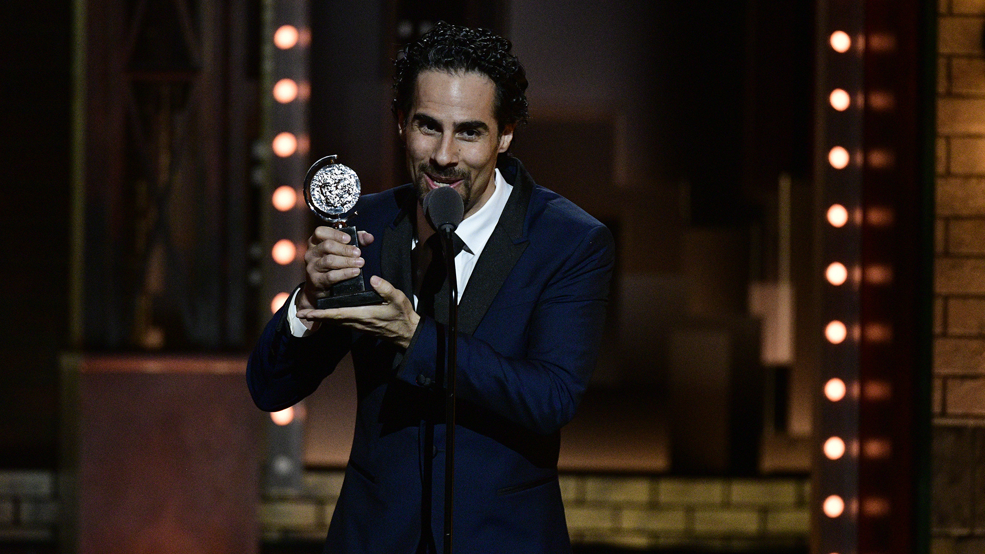 Alex Lacamoire wins the 71st Annual Tony Award for Best Orchestrations