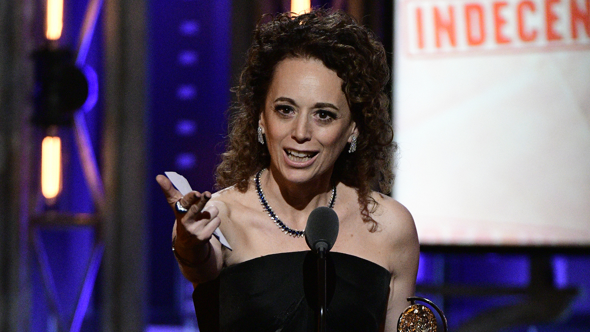Rebecca Taichman wins the 71st Annual Tony Award for Best Direction of a Play