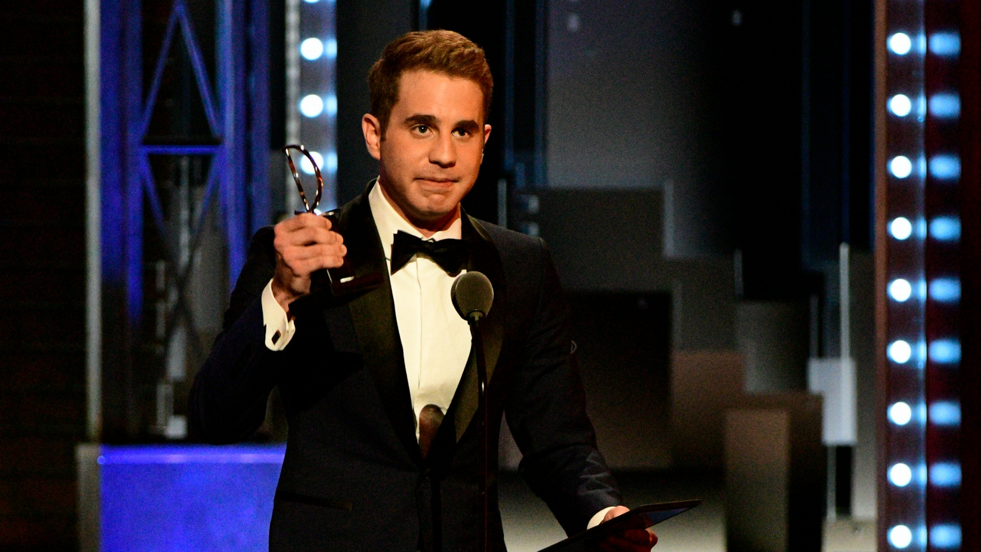Ben Platt wins the 71st Annual Tony Award for Best Actor in a Leading Role in a Musical