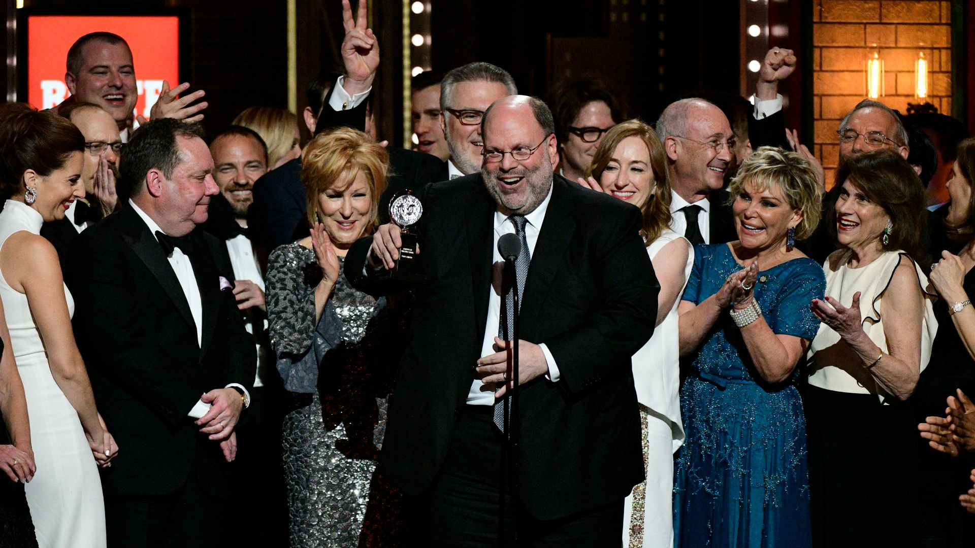Hello, Dolly! wins the 71st Annual Tony Award for Best Revival of a Musical