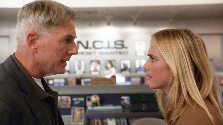 Bishop confronted Gibbs about taking it easy on her.
