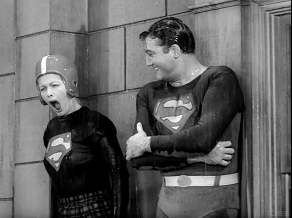 12. Lucy and Superman (season 6, episode 12)