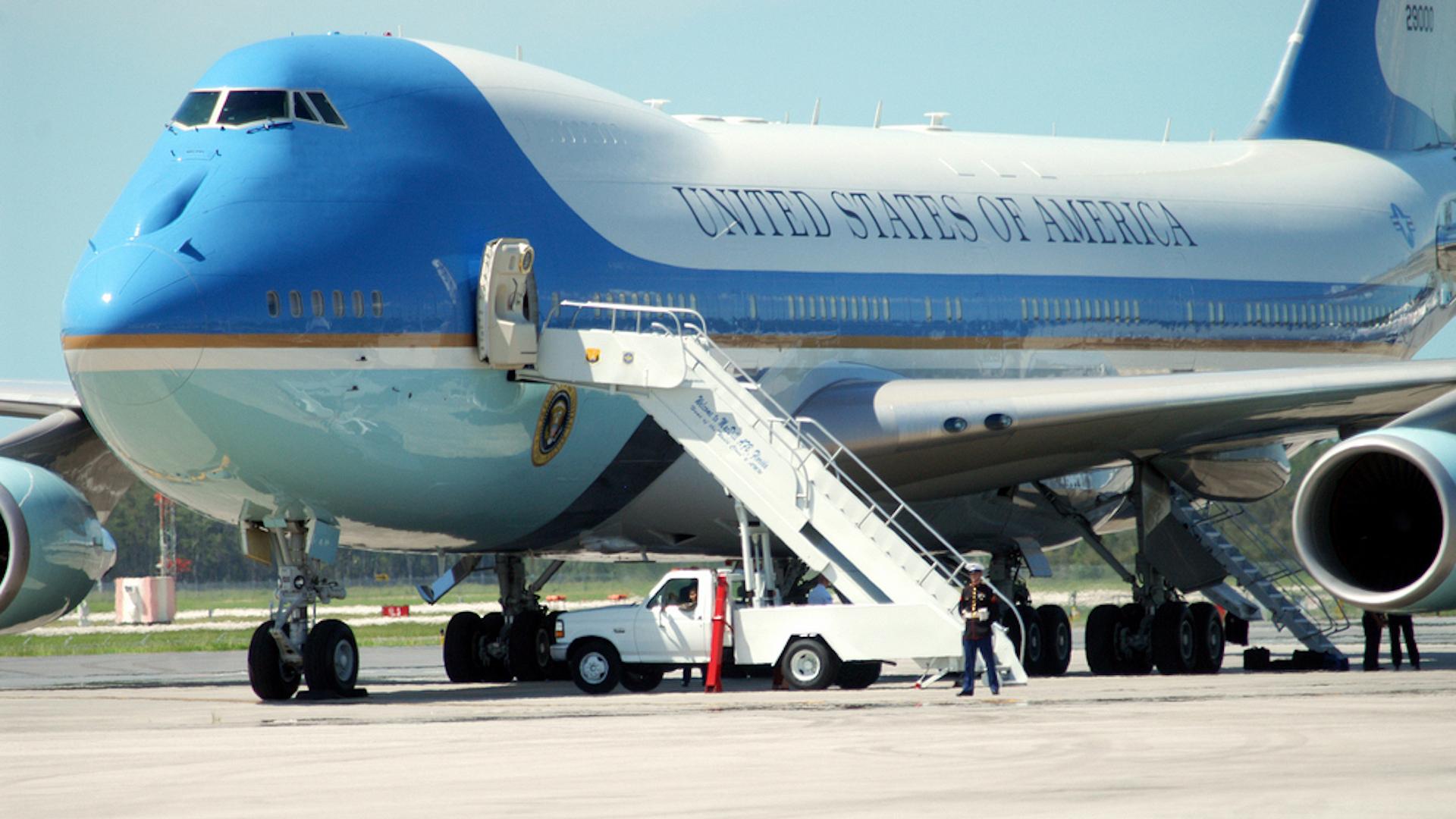 The president's plane