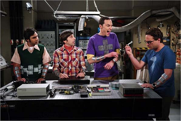 """2. Robot Girlfriends on <a href=""""http://www.cbs.com/shows/big_bang_theory/"""">The Big Bang Theory</a>"""