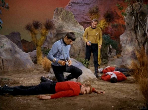 12. The obviously expendable character(s) who may or may not be wearing a red shirt