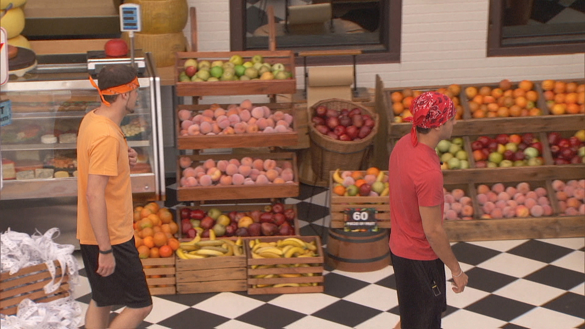 Derrick and Cody compete