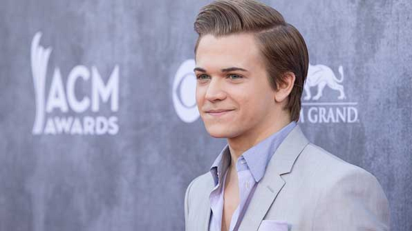 Hunter Hayes was just plain handsome at the 49th Annual Academy Of Country Music Awards.