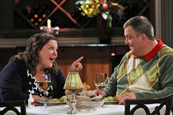18. She has great chemistry with her <i>Mike & Molly</i> cast