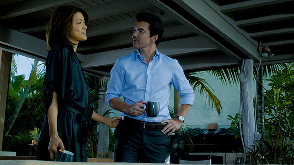18. Park and co-star Ian Anthony Dale have sizzling chemistry