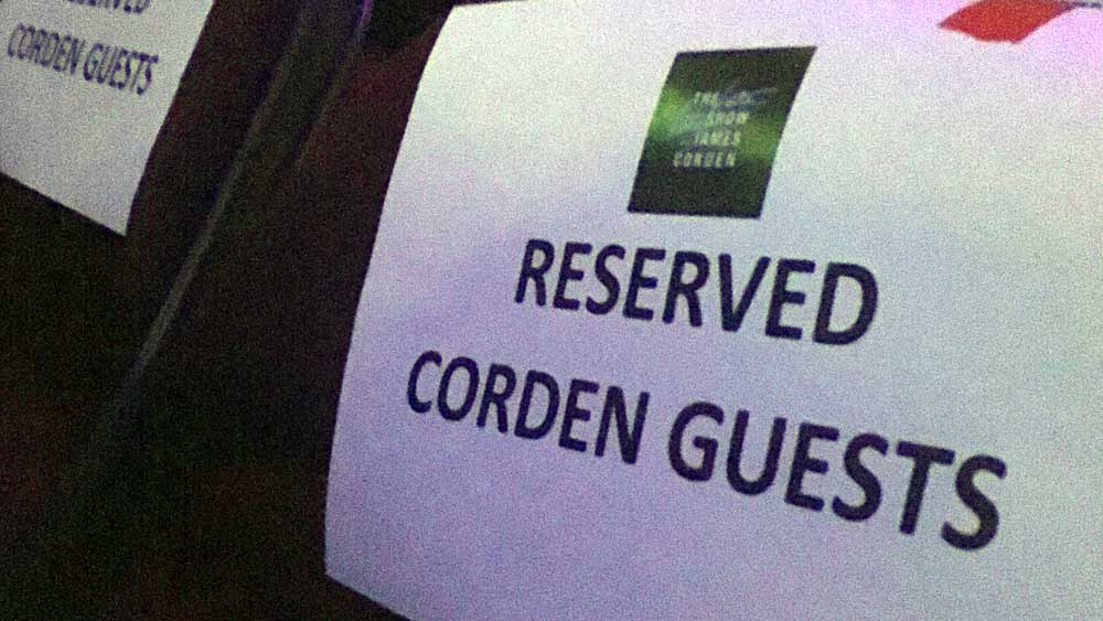 Don't take James Corden's extra seats.