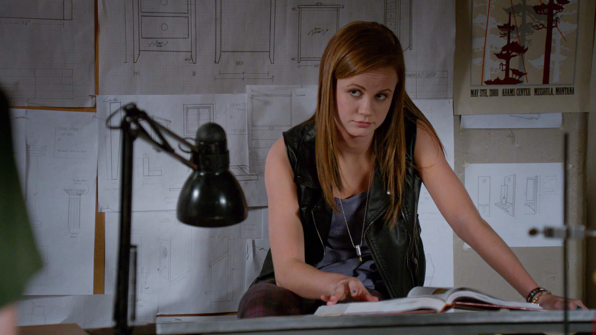 19. Mackenzie Lintz is from a family of actors, but always preferred sports to being in front of the camera.