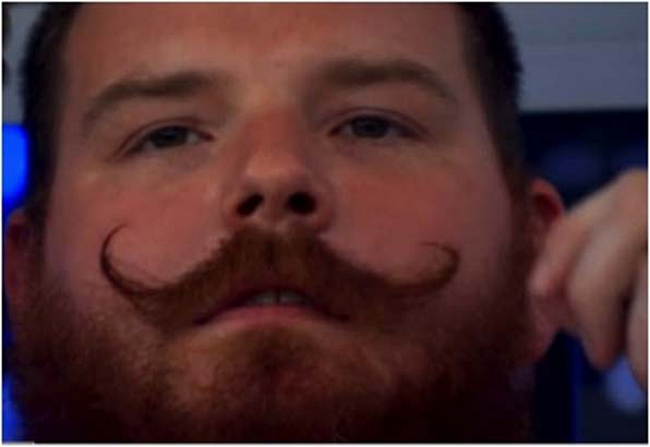 1. Spencer's old-timey feel-good mustache