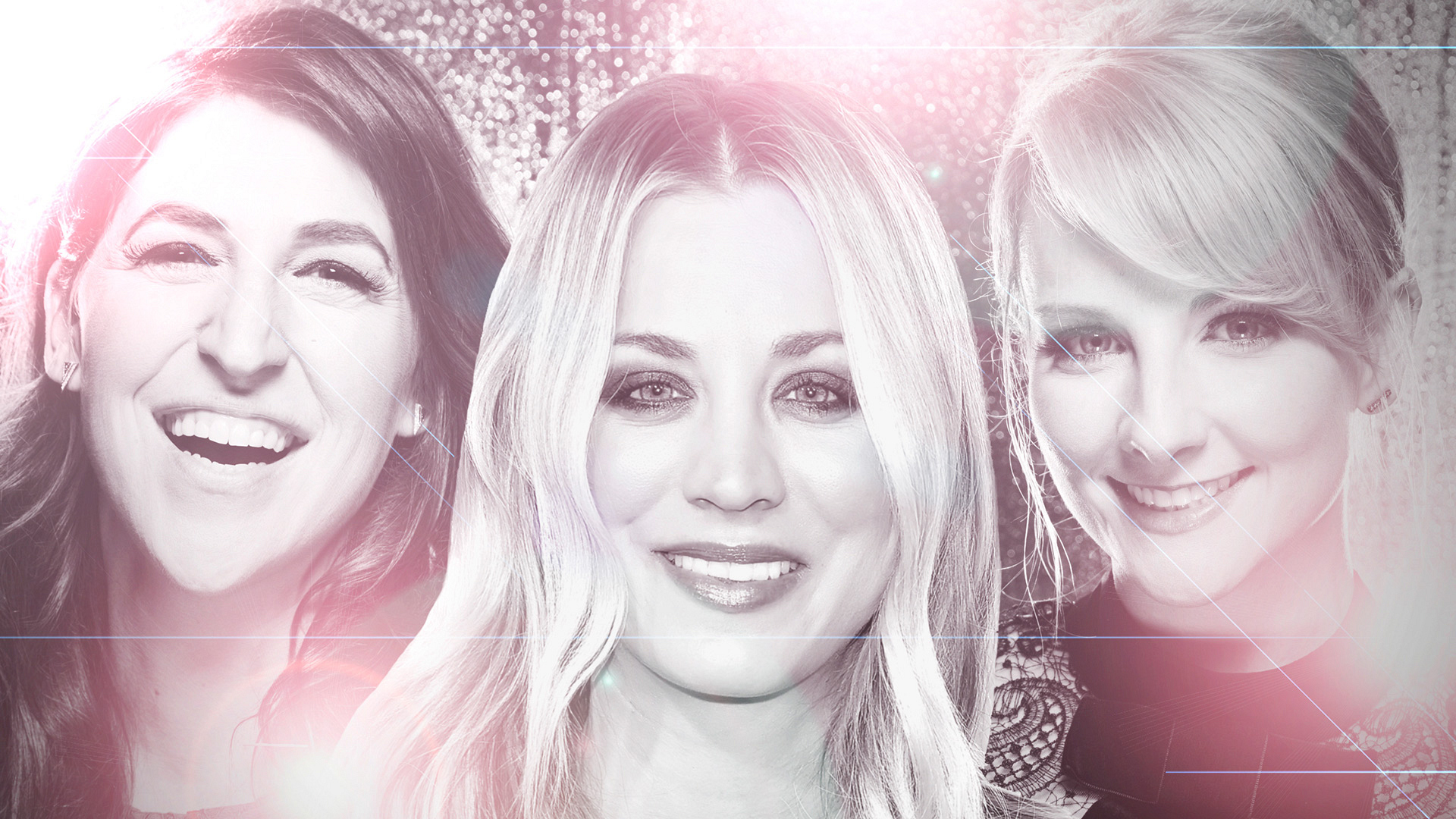 Can the ladies of The Big Bang Theory get any more beautiful?