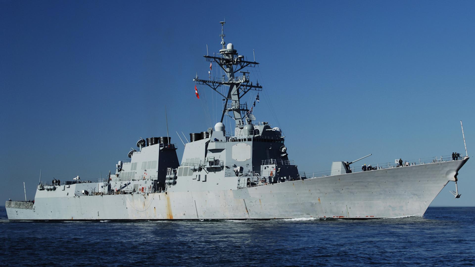 Naval destroyers