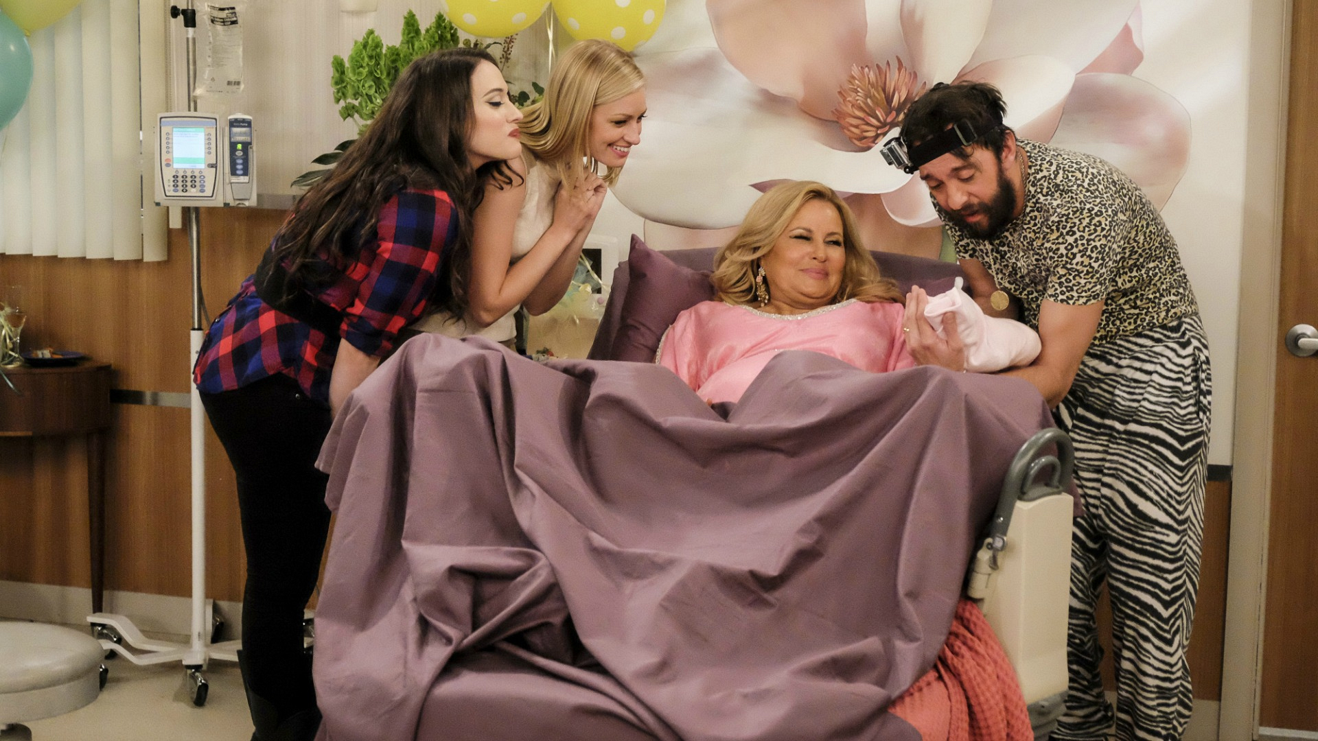 We're fired up to see Sophie and Oleg raise their baby girl on 2 Broke Girls.