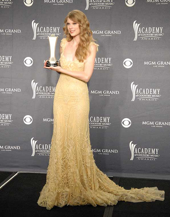 Taylor Swift won big at the 46th Annual Academy of Country Music Awards.