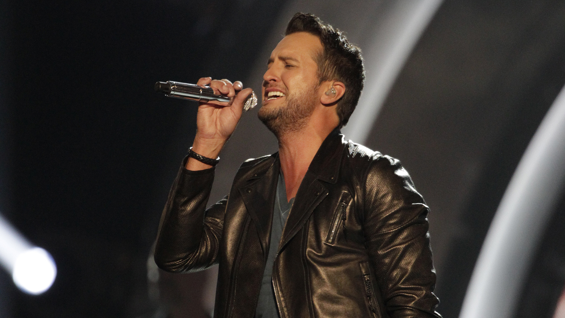 "36. Luke Bryan performs ""Play It Again"" at the 49th ACM Awards in 2014."