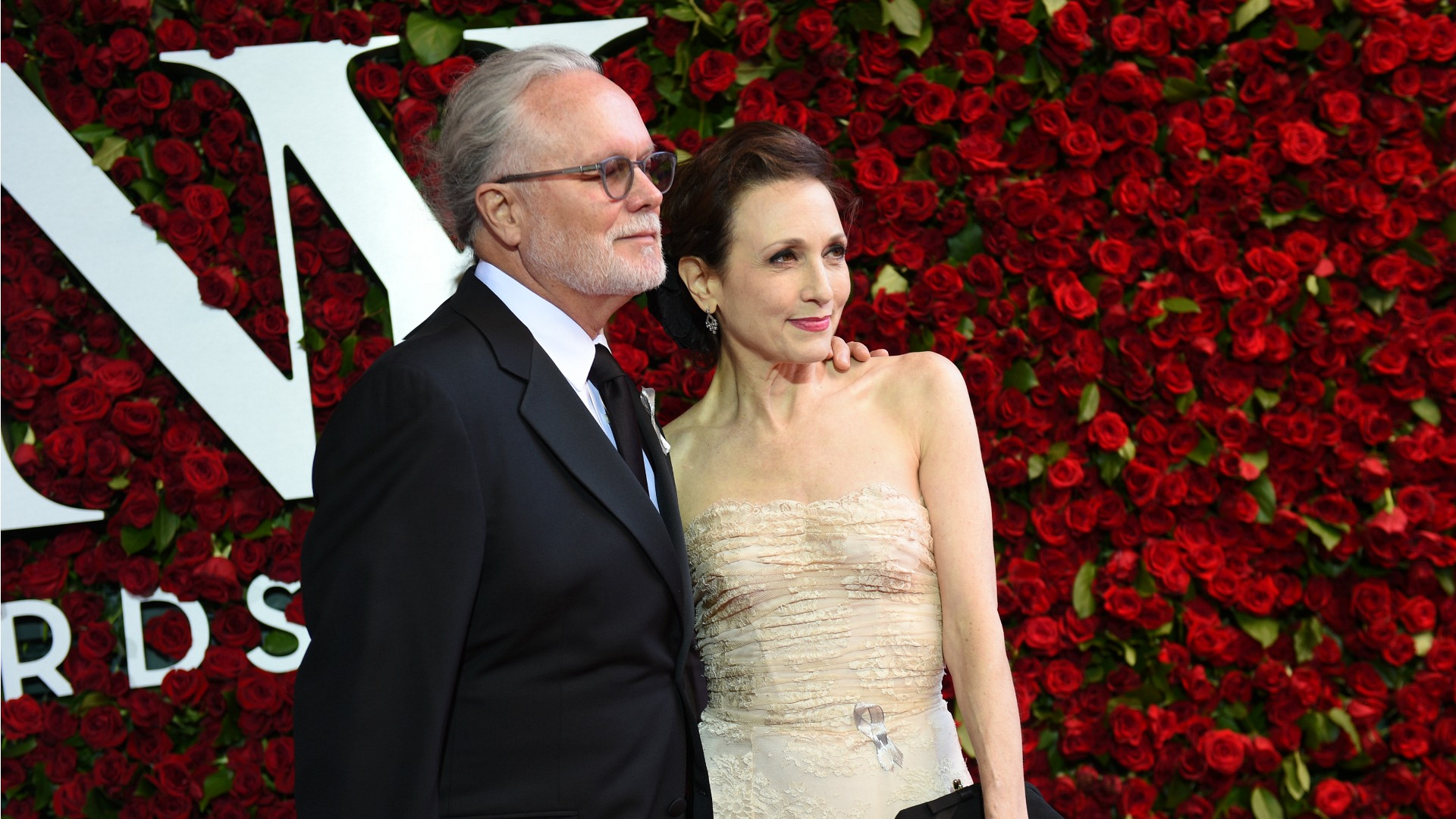 2016 Tony Awards: Bebe Neuwirth and Chris Calkins