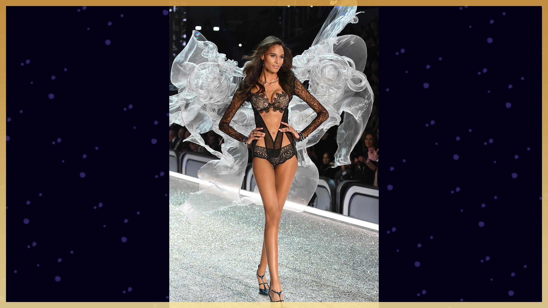 Cindy Bruna's lacey lingerie