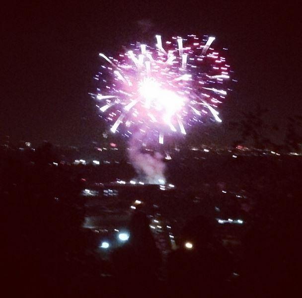 32. Fireworks!