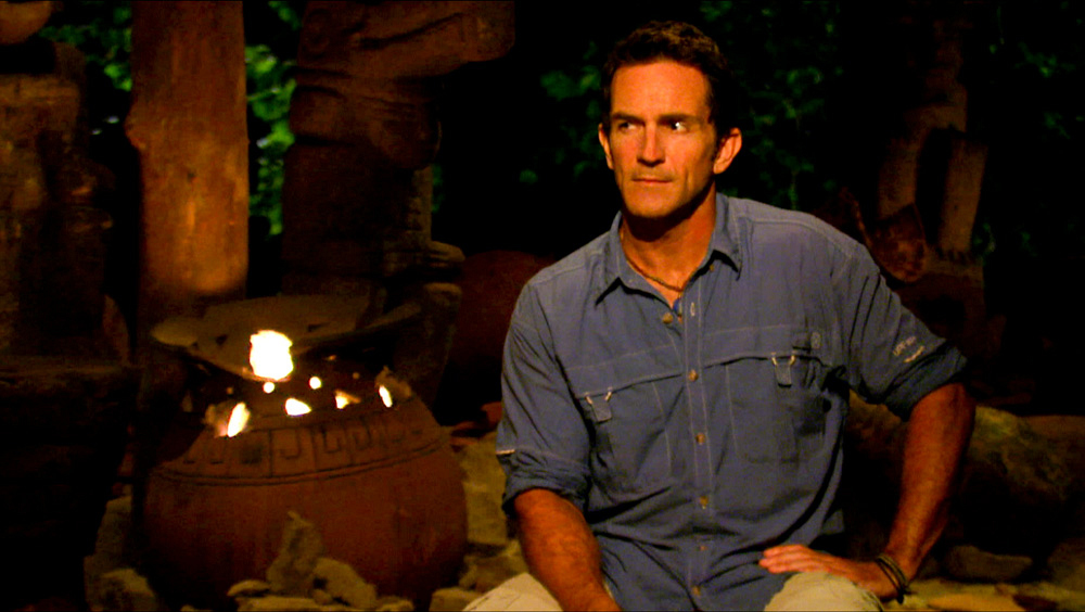 Jeff Probst During Tribal Council