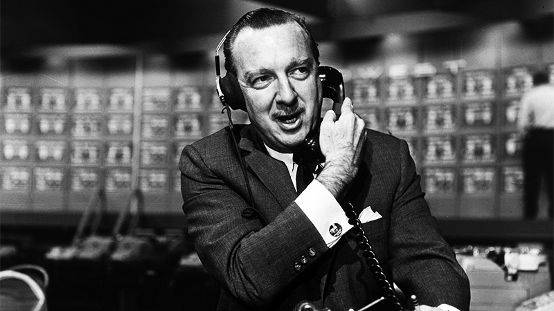 Cronkite took a generation through the tumult of the 20th century