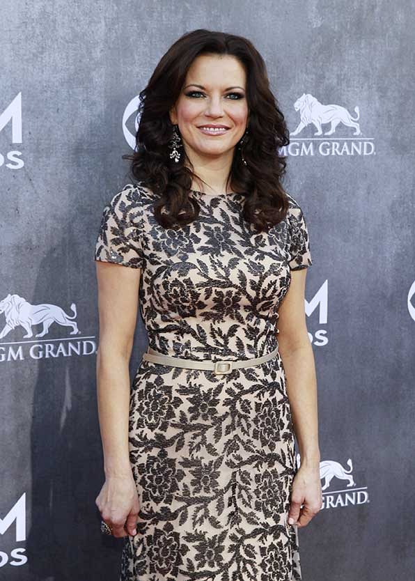 Martina McBride was fabulously floral at the 49th Annual Academy of Country Music Awards.
