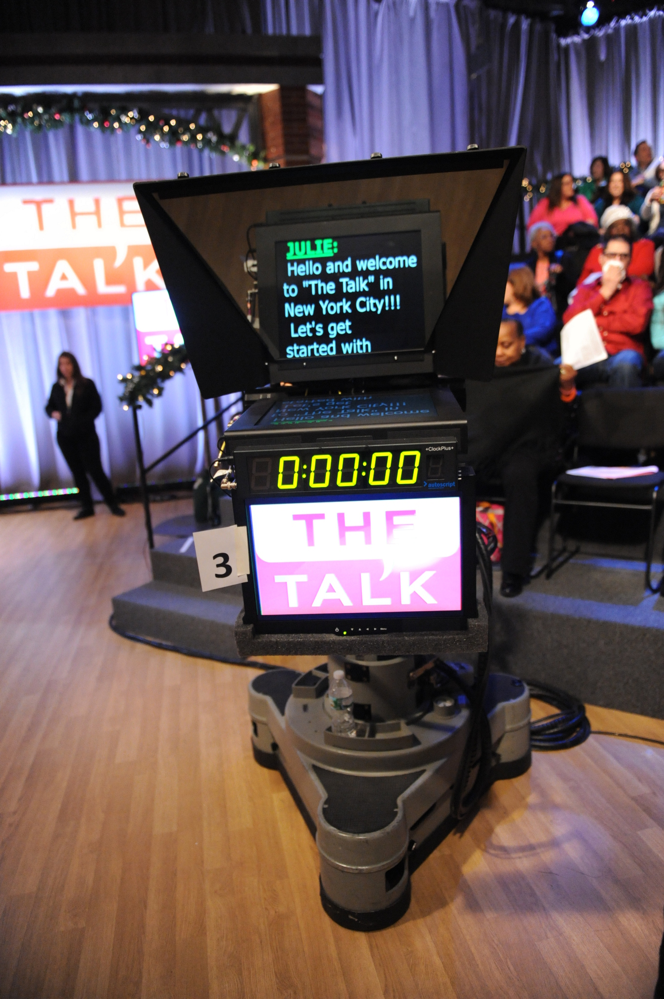 The Talk in New York City