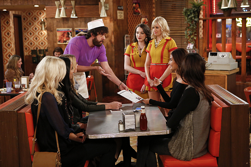 1. Williamsburg Diner, Two Broke Girls