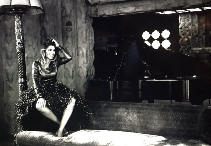 NCIS' newest cast member Jennifer Esposito channels old Hollywood.