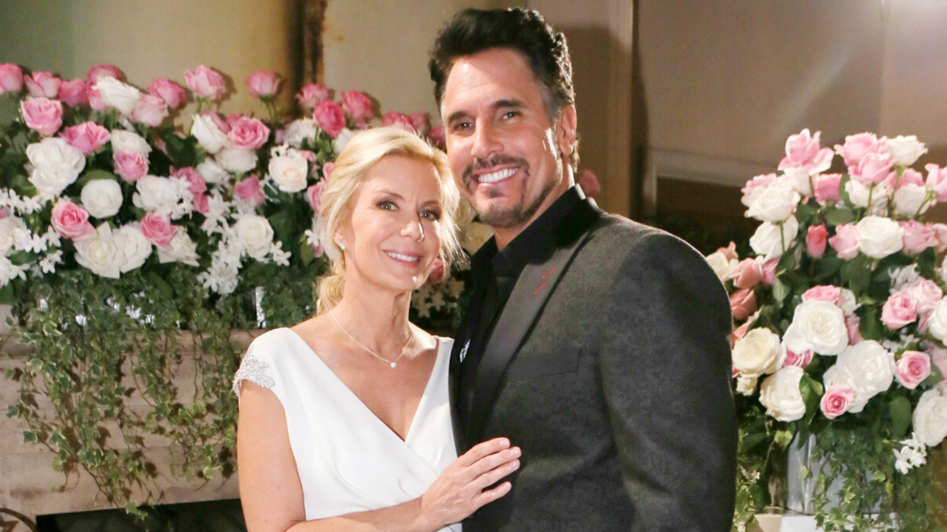 Brooke and Bill's second attempt at a marriage in 2016 was thwarted by Ridge. Again.