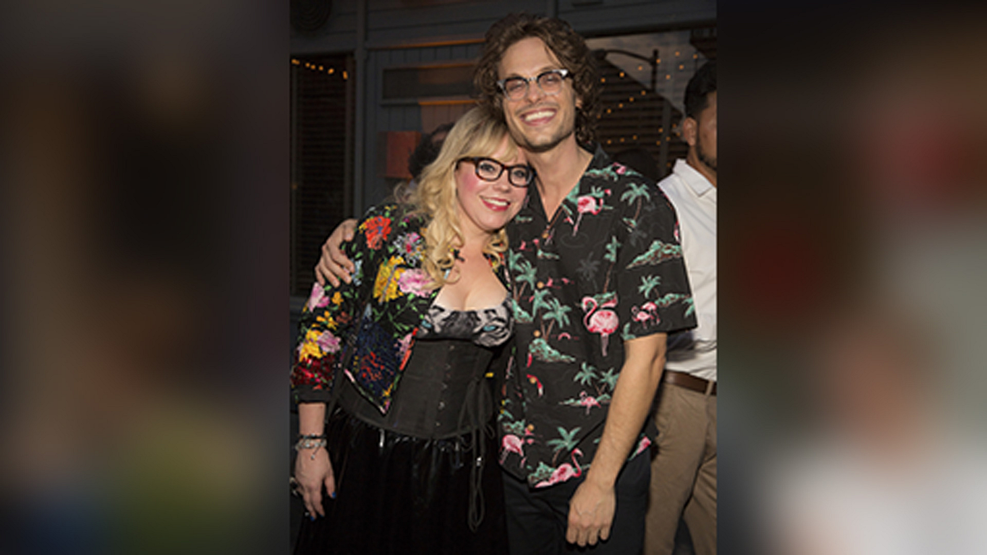 Kirsten Vangsness and Matthew Gray Gubler (Criminal Minds)